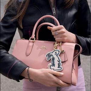 f397c9b0998d Coach Selena Gomez Bond Bag w Bunny Charm Limited